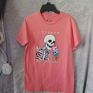 Riot Society shirt size small mens
